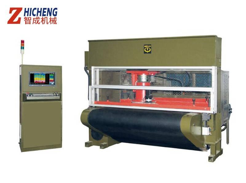 CNC移动式皮带式裁断机60T